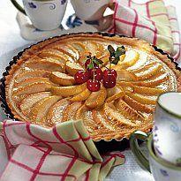 Яблочно-карамельный пирог.