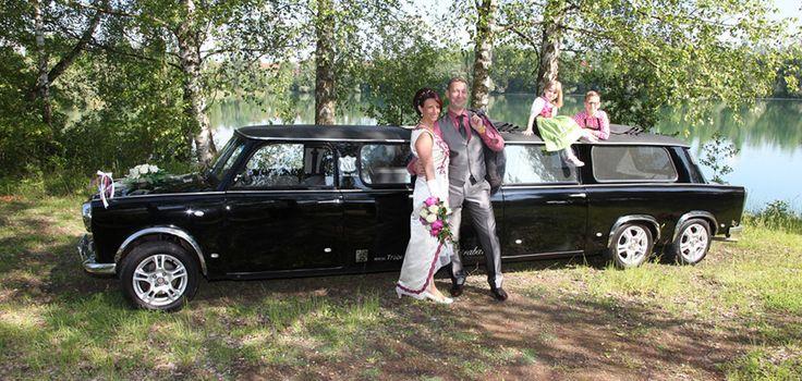 #Trabi #Limousine #Hochzeitstrabant #Hochzeit #Trabant #Trabbi
