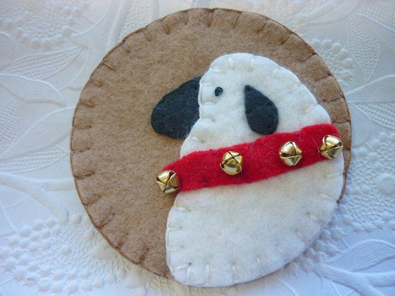 44 best images about sheep toys on pinterest wool for Sheep christmas ornament craft