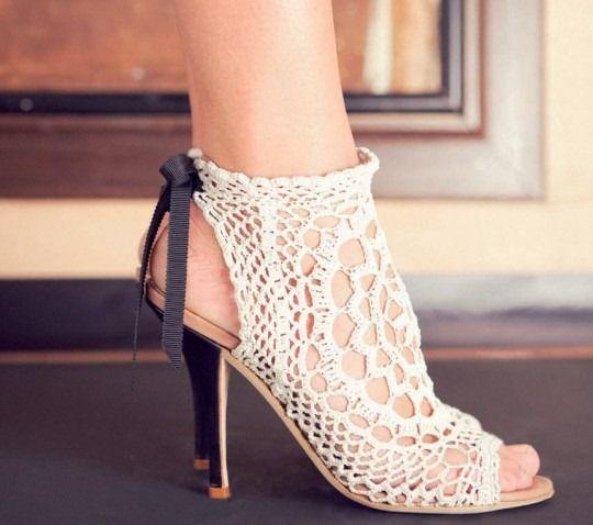 Crochet Shoes jewellerybijou.com
