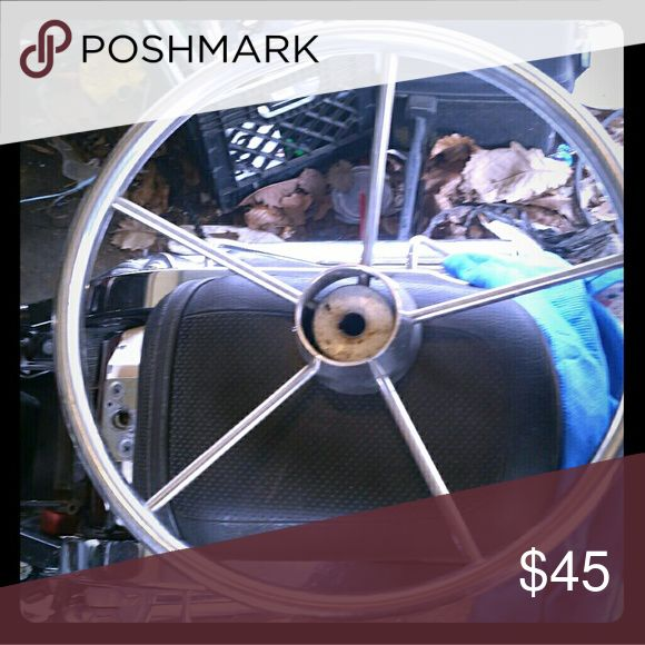 Boat steering wheel Used Other