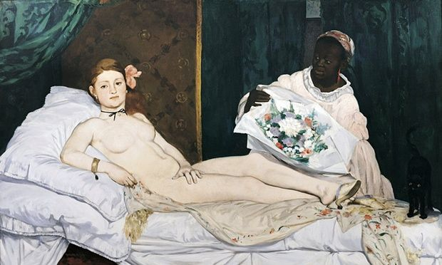 Olympia by Edouard Manet