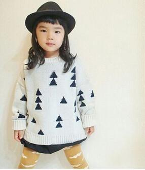 Geometric Toddler Sweater