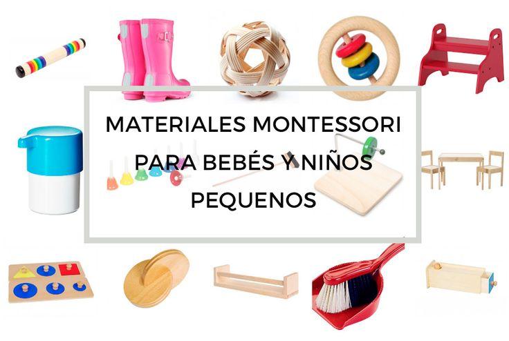 A menudo me preguntáis por materiales para los peques siguiendo la filosofía Montessori. En mis cursos Montessorizate! siempre digo que los materiales son como un 20% de Montessori, siendo el 80% su filosofía: Cambiar la mirada que tenemos hacia el niño y hacer un trabajo interior profundo para no obstaculizar, sin querer, su desarrollo. De …
