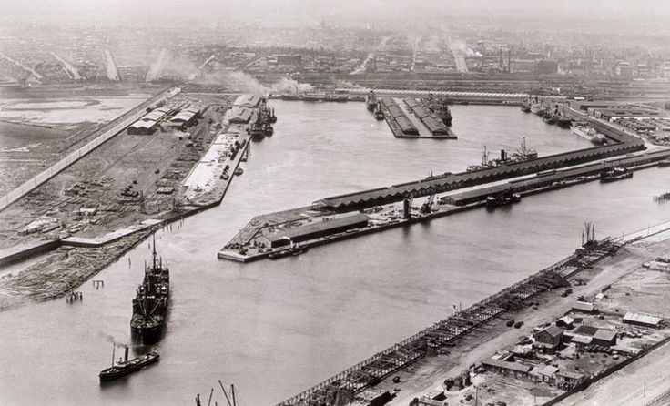 Melbourne Docklands in the 1800s