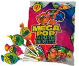 A bulk bag of Mega Mouth Pop.