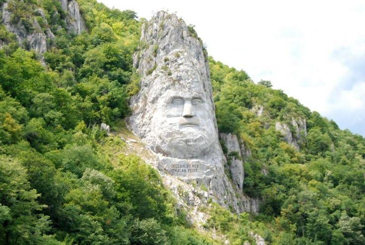 King Decebal danube - Romania