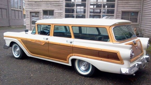 Wooden Looker: 1957 Ford Nation Squire Wagon