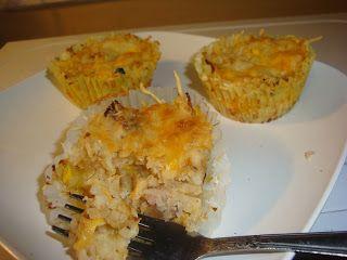 Bariatric Foodie: BF Kid Zone (part deux): Cheesy Mashed Cauliflower Cups