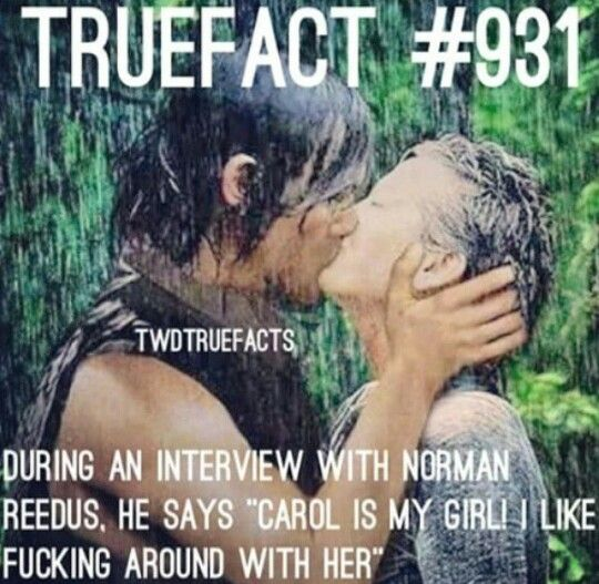 True Fact - Caryl - The Walking Dead                                                                                                                                                                                 More