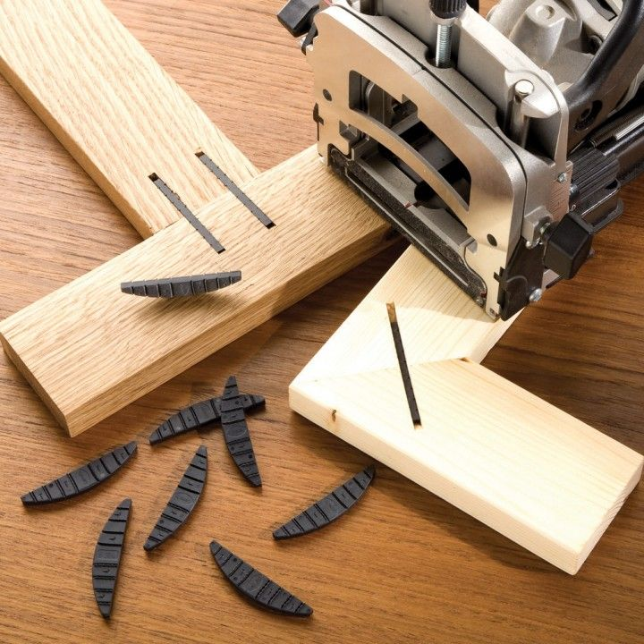 Simple, strong connectors for clamp-free joinery! (L-Style) | wood working / Wood, Workshops and ...