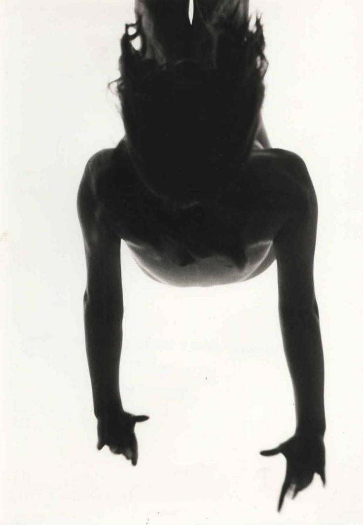 Kiyoshi Niiyama, Untitled (Nude with Arms Raised), 1950s-60s. Gelatin silver print.
