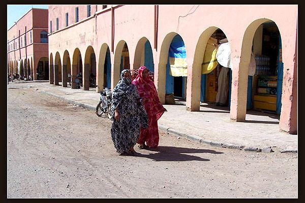Women in Tata, Morocco