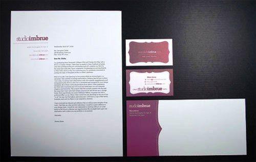Contoh Desain Kop Surat dan Corporate Identity Inspiratif 08