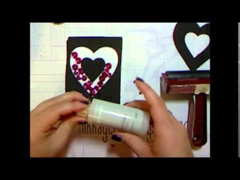 Create your Vision: Create Your Card - Create An Outline Shaker Card