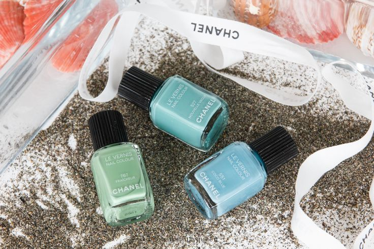 Chanel Le Vernis 527 Nouvelle Vague 551 Coco Blue 767 Fraicheur