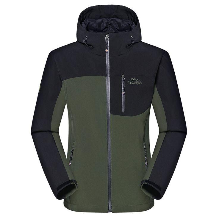 Men's Winter Thick Softshell Jackets Male Outdoor Sports Coats Windproof  Warm Camping Trekking Hiking Ski Brand Clothing VA014 #jewelry, #women, #men, #hats, #watches, #belts