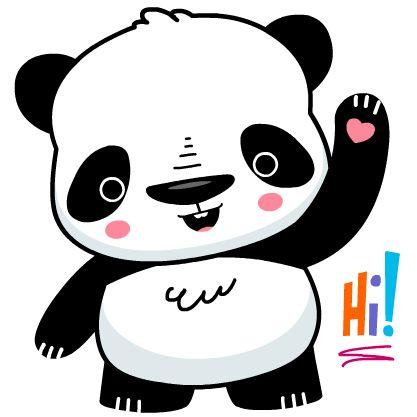 a set of cute panda emoji for Bending Spoons' new iPhone app. GET IT HERE:https://itunes.apple.com/us/app/stickerboard-for-ios-8-send/id914787562?mt=8
