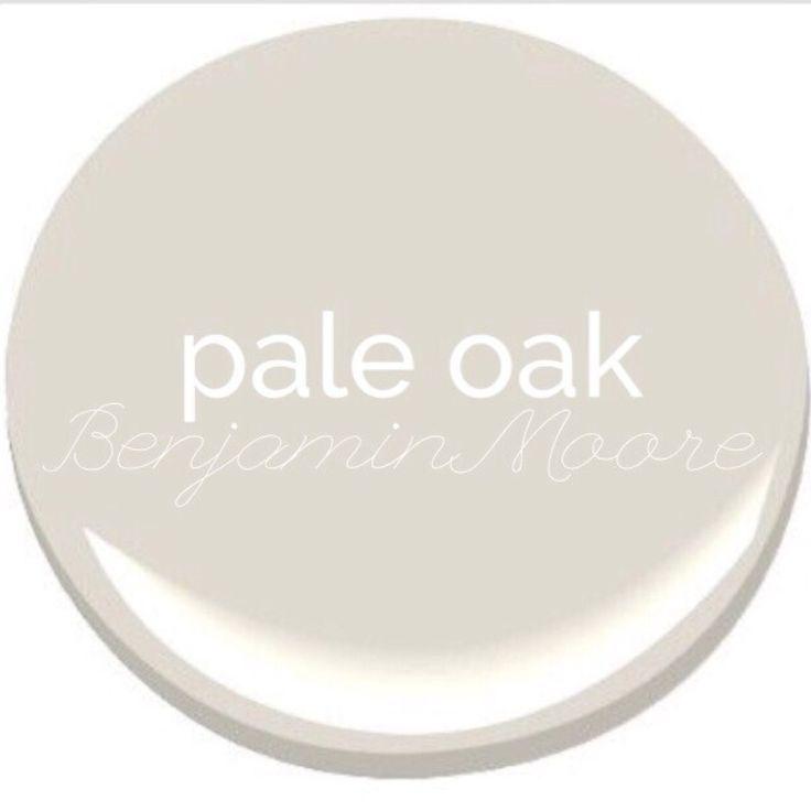 Pale Oak - Benjamin Moore Paint