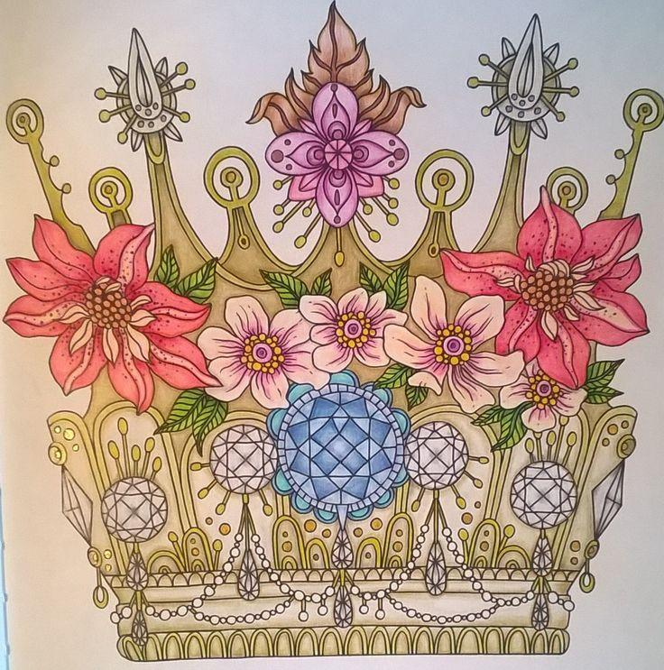 Coloring Book Dagdrommar Pencils Faber Castell Polychromos