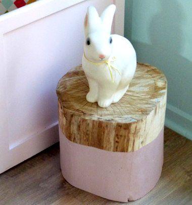 Tree trunk seat // Ülőke farönkből // Mindy - craft & DIY tutorial collection