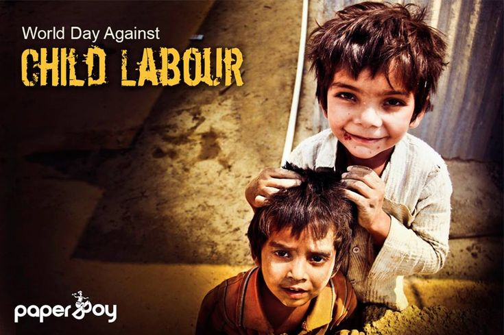 Childlabor and poverty are inevitably bound together so