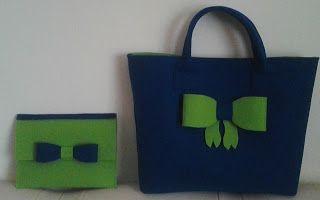 biżuteria soutache, haft koralikowy, torby z filcu: torba i pokrowiec na tablet z filcu