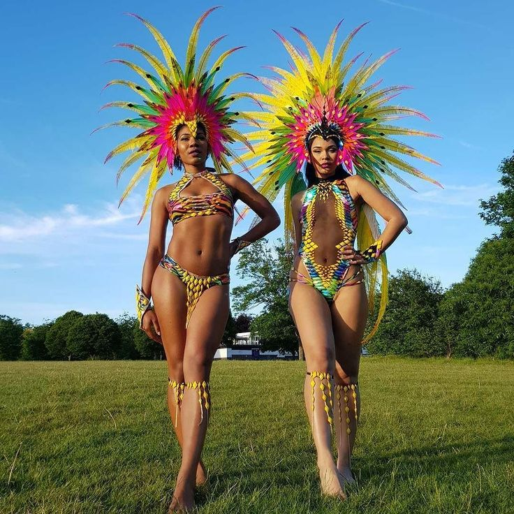 Nottingham Carnival will be  Band: @bacchanalia_uk  #carnival #london #caribbeanfashion