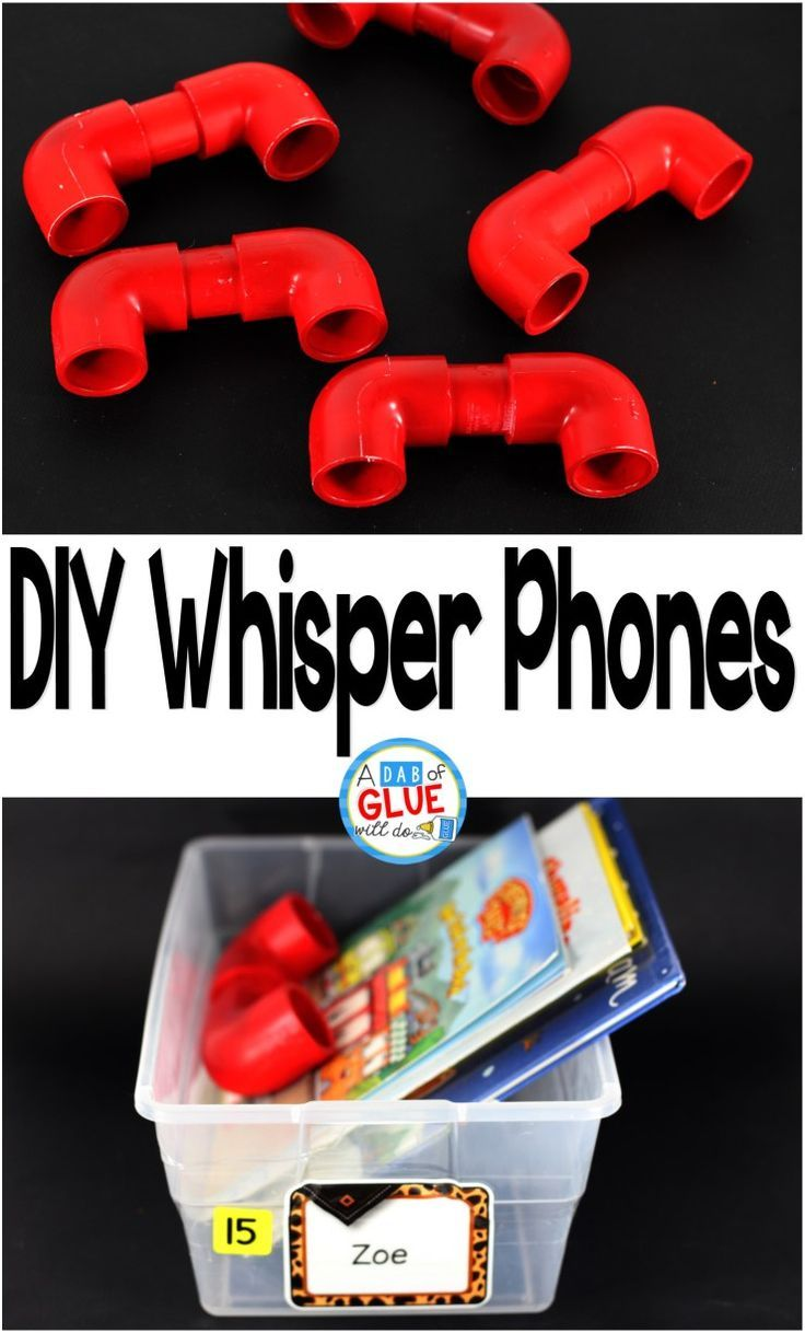 Have you ever looked at whisper phones wishing you could have them in your classroom, but not really wanting to shell out the big bucks for a classroom set? Well, do not fret. You can make whisper phones for every student in your classroom for CHEAP and i