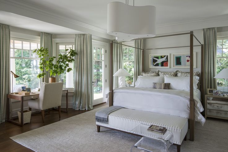 A new england style home that breaks with tradition for New england style bedroom