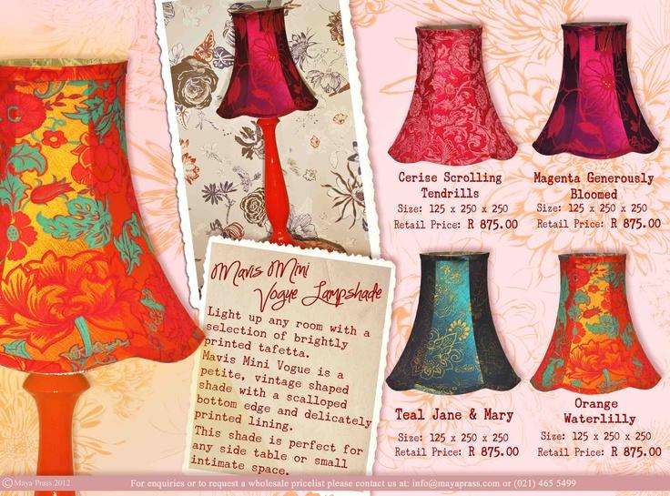Mavis Mini Vogue lampshade