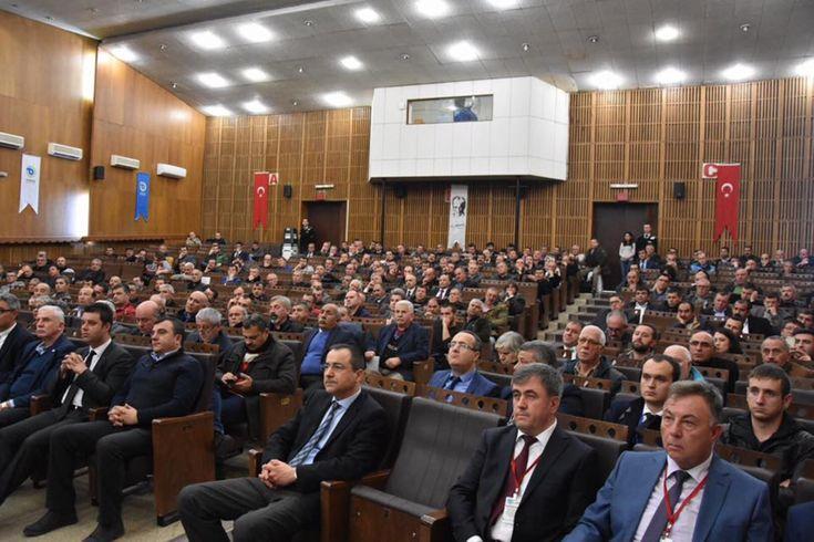 """Odamız Yönetim Kurulu Başkan Yardımcısı İbrahim Gönül""""Toplu Ulaşım Sistemi ve Trafik Sirkülasyon Projesi ile Geleceğe Yönelik Hedefler"""" Toplantısına Katıldı"""