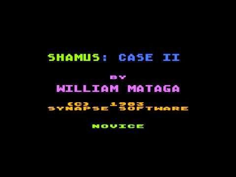 Shamus case II Intro Atari