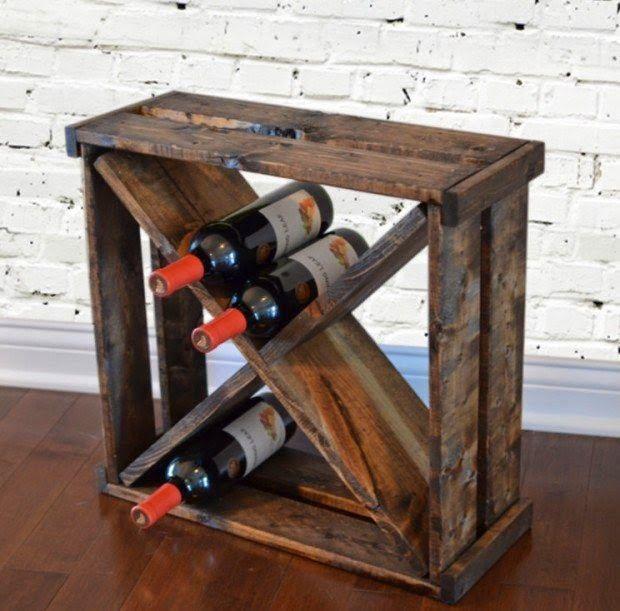 11 Projetos DIY acessíveis dos caixotes de madeira velhas | Idees criativas e Soluções
