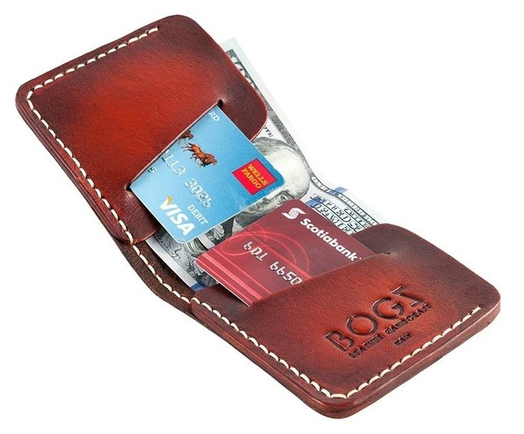 Мужской кошелёк Bogz из итальянской кожи Mini A4 Super Tan - Beige - Tiberius — магазин стильных аксессуаров в Харькове