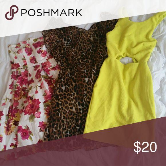 3 size medium dresses Charolette rouse, express, agaci! NEXT DAY SHIPPING! Dresses