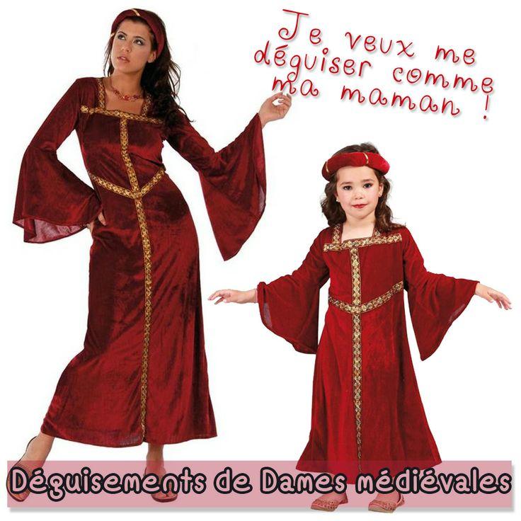 Ces deux costumes sont parfaits pour se replonger dans le passé, et en particulier à l'époque du Moyen-âge !
