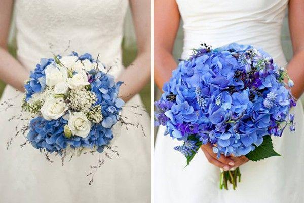 Mavi Gelin Çiçekleri ve Mavi Gelin Buketi Modelleri