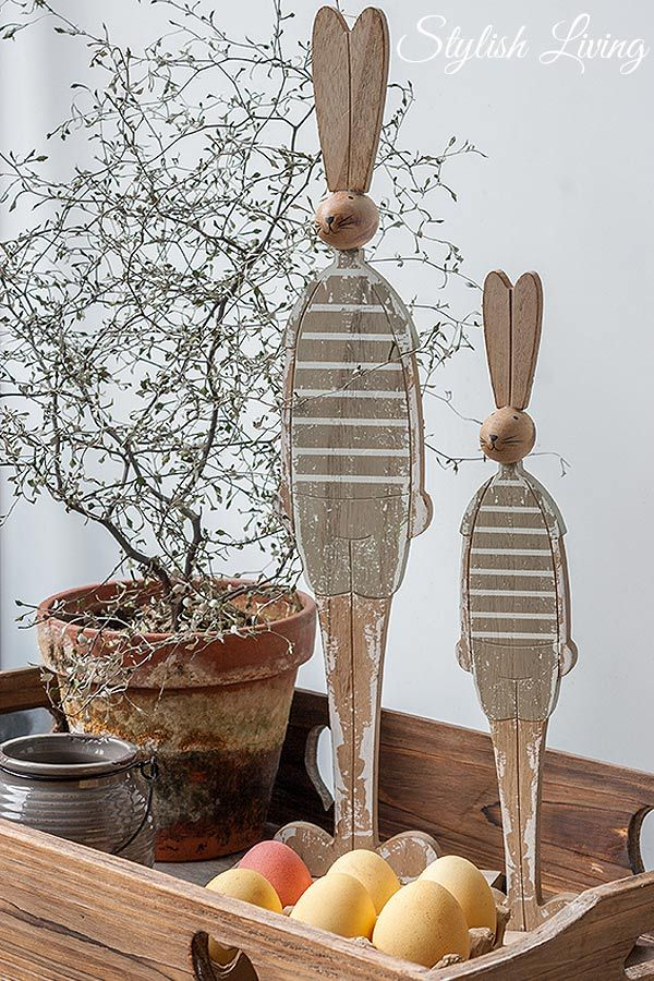Osterdeko... love the bunny people