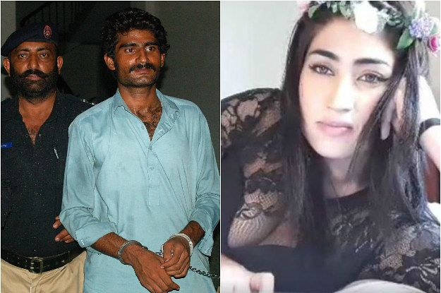 """Yes of course, I strangled her,"" Waseem said. ""Now everybody will remember me with honour."""