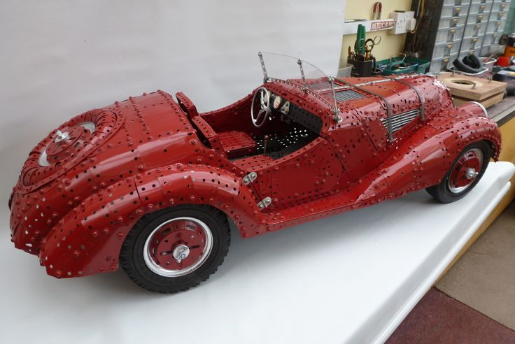Meccano BMW 328 by Nick Rodgers