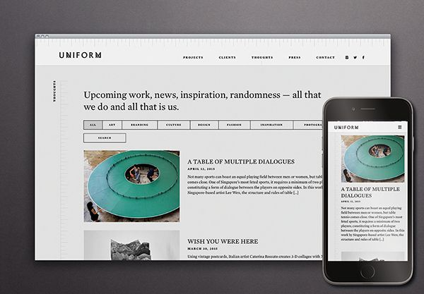 Uniform is a communications, content, and branding studio, where they craft bespoke brand stories and tailor unique identities. Early branding was completed in 2011. But as Uniform has grown in the past 3 years, a basic website was no longer sufficient.…