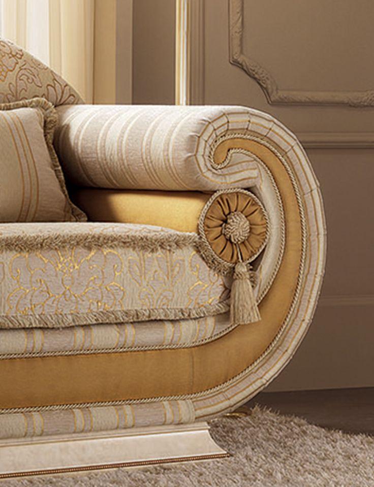 Leonardo Collection Living Room, Armchair Detail www.arredoclassic.com/living-room/sofas-leonardo