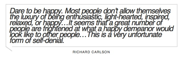 Richard Carlson Quote