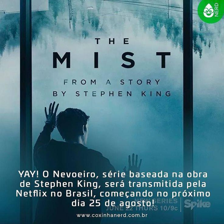 #CoxinhaNews YAY! O Nevoeiro série baseada na obra de Stephen King será transmitida pela Netflix no Brasil começando no próximo dia 25 de agosto! #timelineacessivel #pracegover