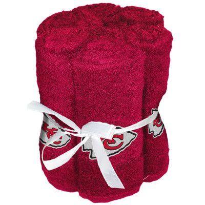 Northwest Co. NFL Chiefs Wash Cloth
