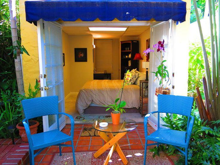 Room with A/C, mini-fridge, wi-fi.