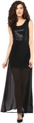 Martini Women's Maxi Dress - Buy Black Martini Women's Maxi Dress Online at Best Prices in India | Flipkart.com #Maxi #Dresses #India
