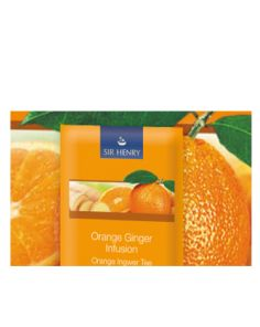Sir Henry Tea - Orange Ginger 25 x 2,25gr