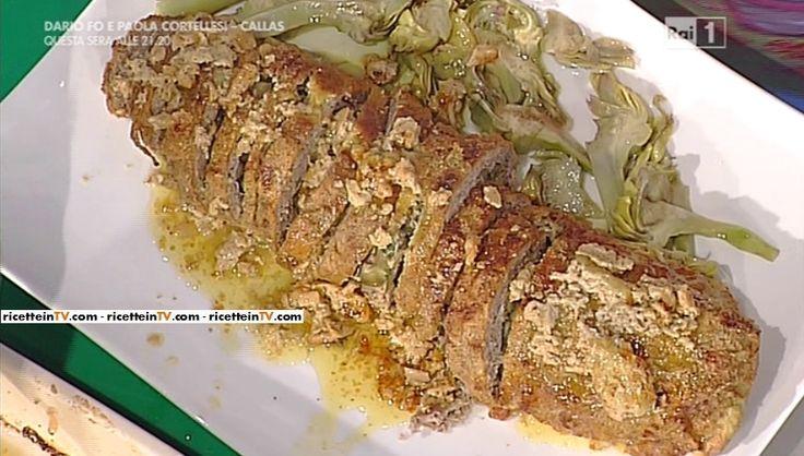 La ricetta del polpettone ai carciofi di Anna Moroni del 4 dicembre 2015 - La prova del cuoco